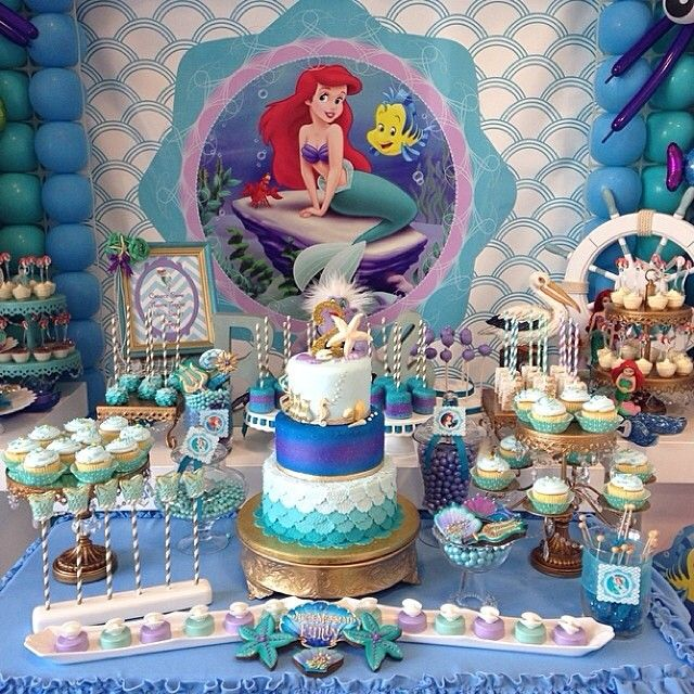 "Little mermaid inspired party at @kuboplay  REPOST FROM @opopsbyangie: ""What a busy week/weekend. I finally get to relax but not before our final delivery for the weekend. Love this dessert table set up at @kuboplay today. Always a pleasure colaboraring with @cakesbyrc & @youcancallmesweetie. One more for the books ladies!  #opopsbyangie #cakepops #oreos #marshmallows #ricekrispytreats #merenguitos #littlemermaid #rufflecakepops #mermaidtailcakepop"""