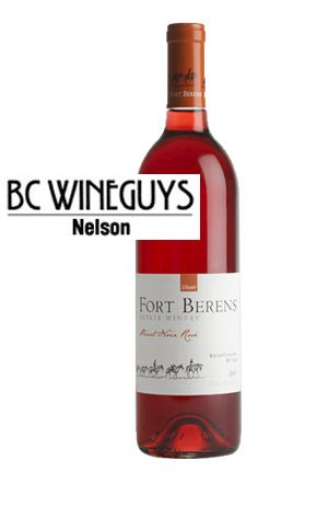 Fort Berens Rose from BC Wine Guys Nelson: Succulent Strawberries!
