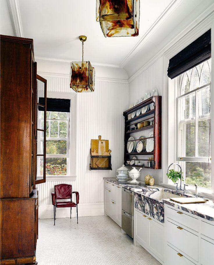 Michael bruno tuxedo park kitchen photo douglas friedman for elle decor for the home - Elle decor kitchens ...
