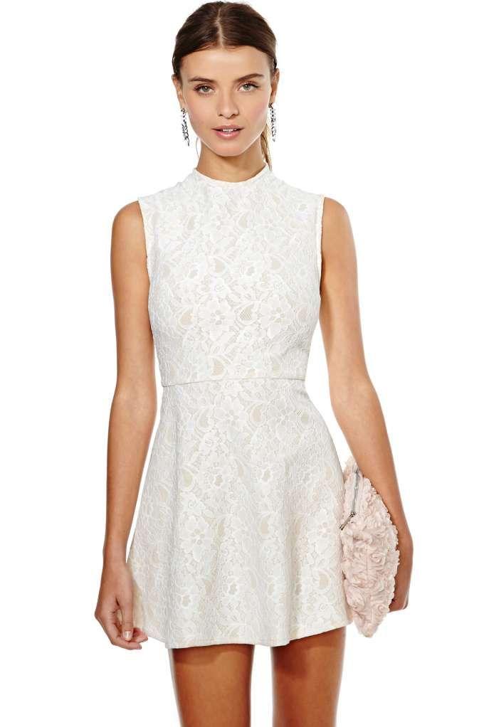 Nasty Gal Anastacia Lace Dress
