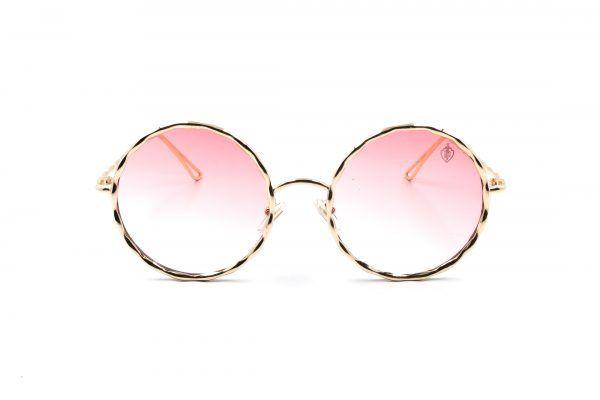0135e844f2cf8 Modelo Premium Flat com lente rosa, moderno e descolado, óculos todo em  metal, indicado para quem tem personalidade e estilo. R 149,90.