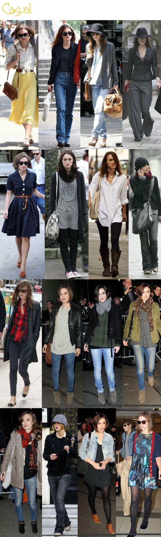 Diferentes looks e estilos da Keira: inspiração para o dia a dia
