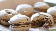 makroner med hasselnøtter og sjokoladefyll 2