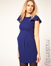 I like the belly part on this dress.  (maternity)