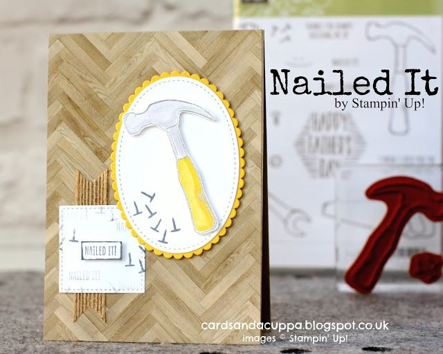 Sarah-Jane Rae cardsandacuppa: Stampin' Up! UK Order Online 24/7: Nailed It! Stamps by Stampin' Up!