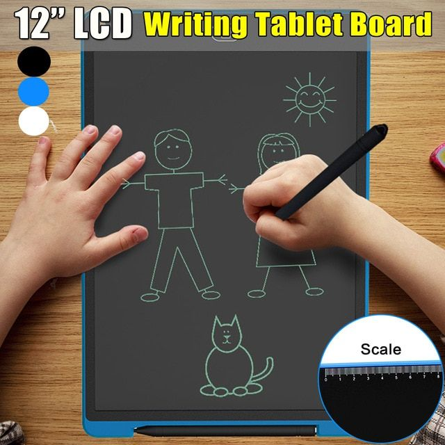 12 Inch Lcd Writing Tablet Digital Drawing Tablet Electronic Tablet Board Handwriting Pads For Children Drawing Pa Digital Drawing Tablet Tablet Drawing Tablet