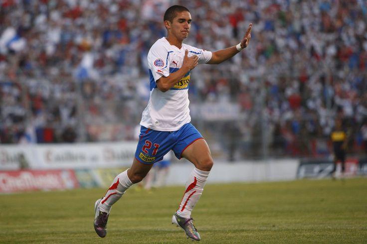 Felipe Gutiérrez a Everton, última fecha campeonato 2010