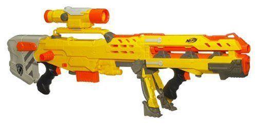 Nerf N-Strike Longshot CS-6, http://www.amazon.co.uk/dp/B000ETQR3Q/ref=cm_sw_r_pi_awdl_eYonvb1QH9SFP