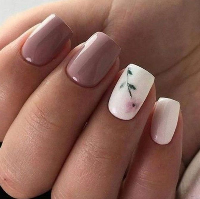 54 Most Lovely And Stunning Floral Nails Inspirational Art You For Prom And Wedding - Page 8 of 54 - Marble Kim Design