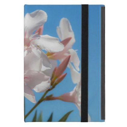 White Flora Cover For iPad Mini - floral style flower flowers stylish diy personalize