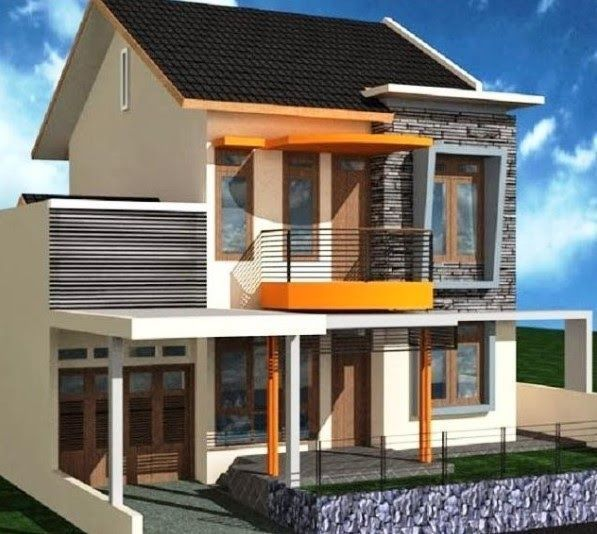 25 Desain Rumah Minimalis 2 Lantai 6x12 Modern Terbaru 2020 Desain Denah Rumah Minimalis 2 Lantai 6x12 Dan Biayanya Des Di 2020 Desain Rumah Rumah Minimalis Modern