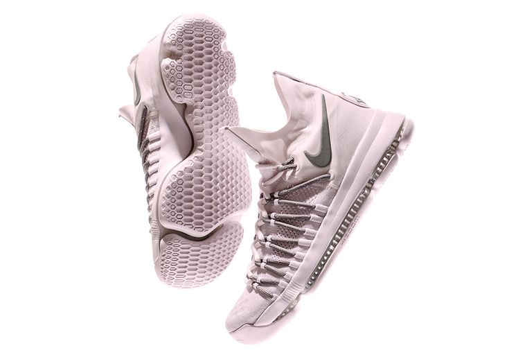Kevin Durant's latest model, the Nike KD 9 Elite, gets an overhauled Pink Dust colorway for a pastel lifestyle touch coming Spring 2017. Details: