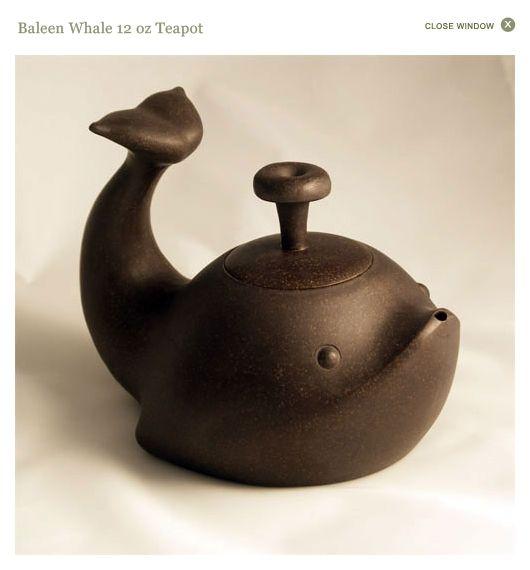 Baleen Whale Yixing teapot ~ Yixing (Pronounced Ee-Shing)