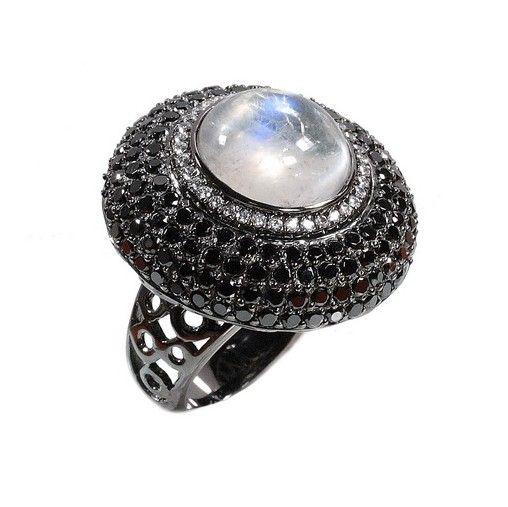 Стайл Авеню - Silver Rubies Sapphire : Кольцо(RSJ005)