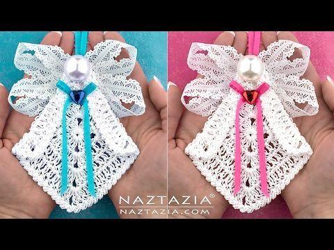 DIY Tutorial Learn How to Crochet My Sweet Angel Decoration - YouTube