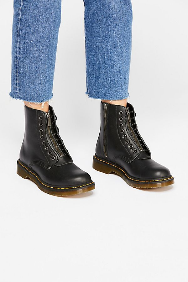 a66cbf3f3 Dr. Martens 1460 Pascal Front Zip in 2019 | Wish list! | Dr martens ...
