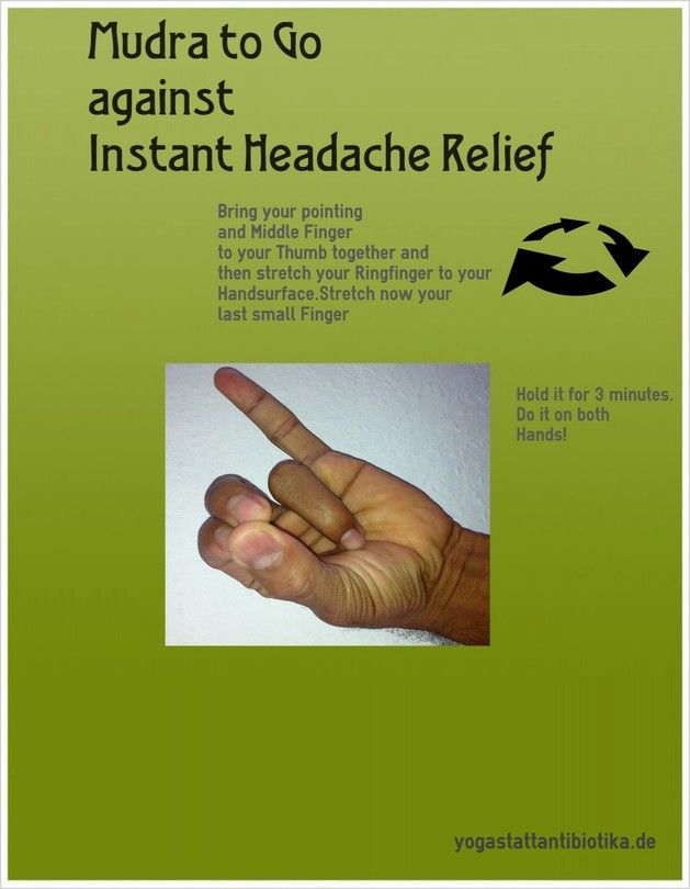 Mudra Against Headacheyoga Infographics Yoga It Yoga For Headaches Yoga Mantras Yoga