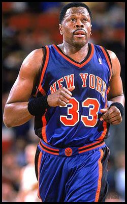 Back when I actually found the NBA interesting I was a fan of Patrick Ewing and the NY Knicks.