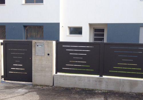 recinzione in ferro moderna - Cerca con Google