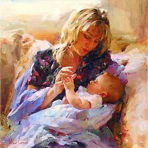 Tender Moment - Michael and Inessa Garmash - World-Wide-Art.com - $850.00 #Garmash