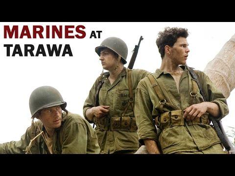 U.S. Marines in Battle of Tarawa | 1943 | WW2 Documentary in Color