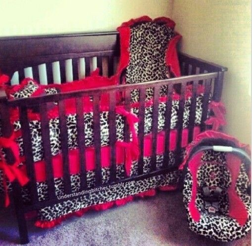 Red cheetah nursery.