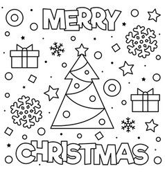 coloring page vector in 2020  free printable christmas