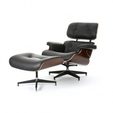 The Classic Eames Replica Chair. This chair has to be sat in to be appreciated. Only then will you discover why the design has become such a classic. This chair is usually more comfortable than a chair twice its price. The soft Italian Leather is a must. #eameschair