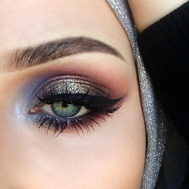 Fall eye makeup