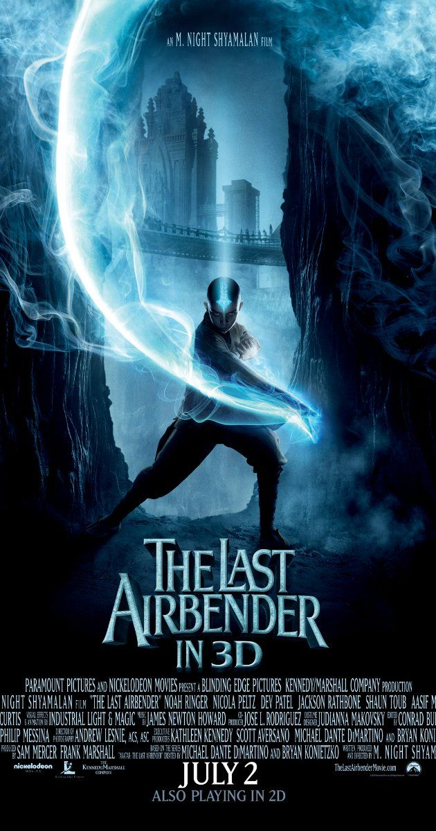 The Last Airbender (2010). (The acting wasn't great, but I love M. Night Shyamalan's films and martial arts movies. nt)