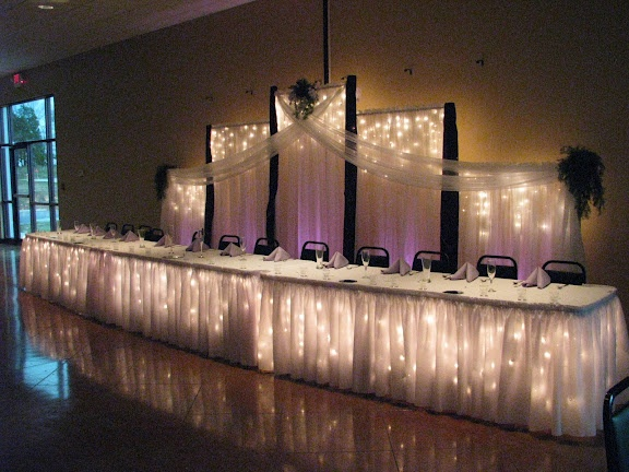 table skirting - Celebrations by Darla Miller