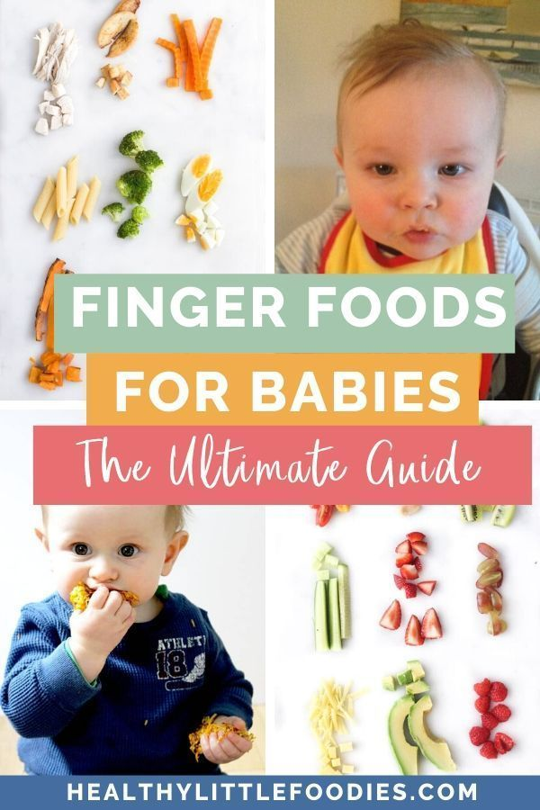 Finger Food For Babies - The Ultimate Guide ・Healthy ...