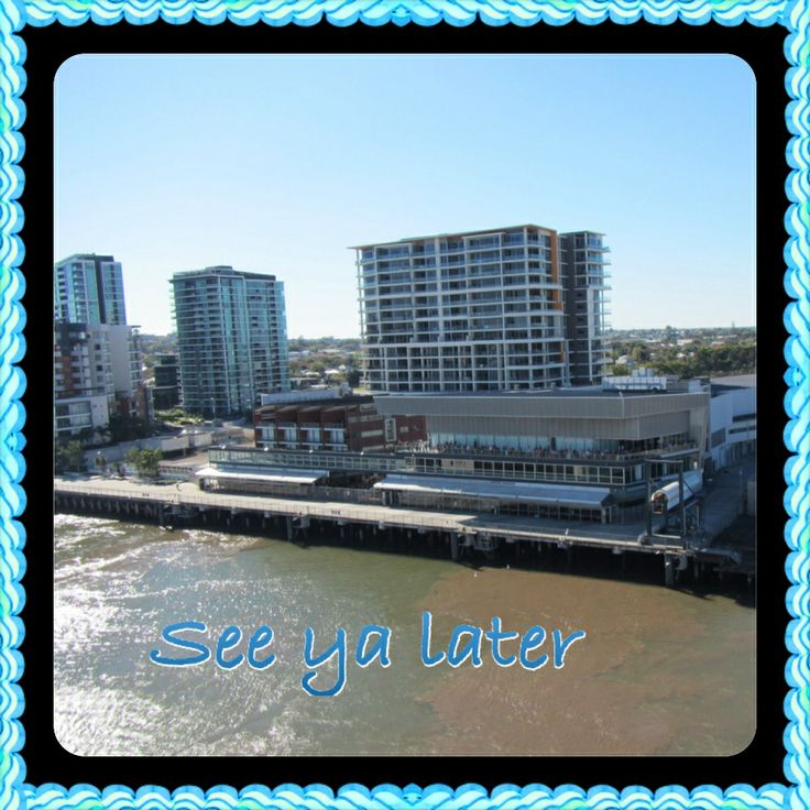 #AustraliaDayOnboard Leaving Hamilton wharf Brisbane