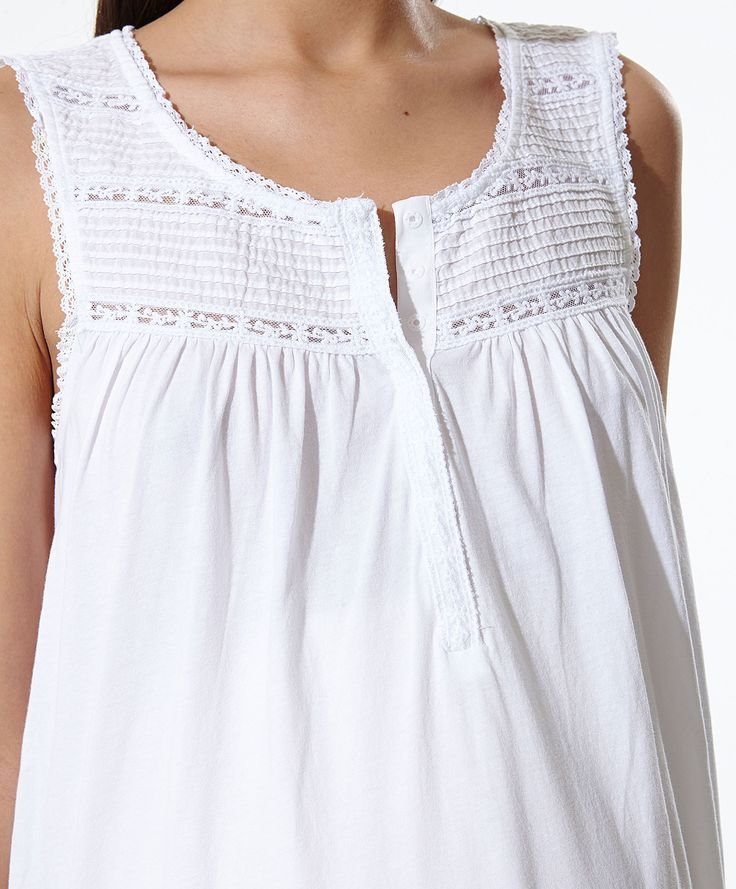 Nightdress with placket detail - OYSHO