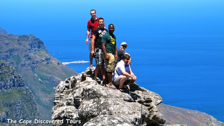 It feels like you can see into the future when standing on top of Table Mountain.