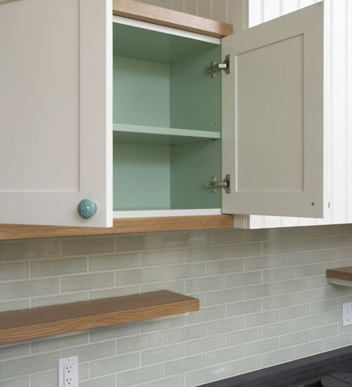 17 Best Ideas About Paint Inside Cabinets On Pinterest