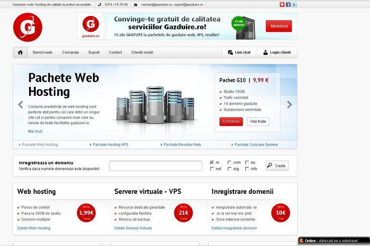 Solutii si oferte de bonusuri si gazduire gratuita http://www.gazduire.ro/hosting-gratuit.php, vino sa vezi!