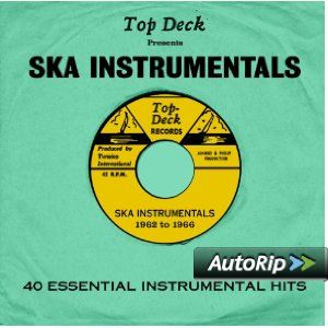 Top Deck Presents: Ska Instrumentals #christmas #gift #ideas #present #stocking #santa #music #Island #records #reggae
