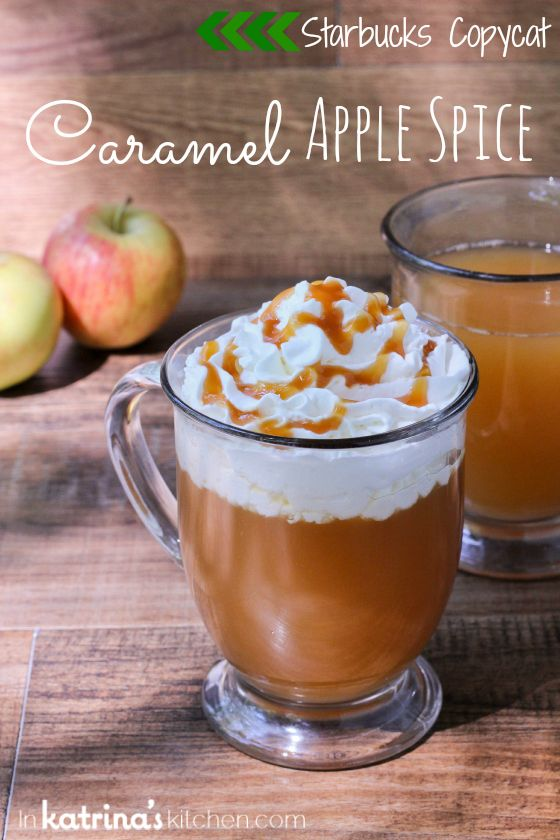 Starbucks Copycat Caramel Apple Spice by KatrinasKitchen