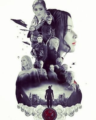 "21 Likes, 1 Comments - @the_morgensterns on Instagram: ""I feel like I often forget about the hunger games so here's this amazing fanart/edit! #cool…"""