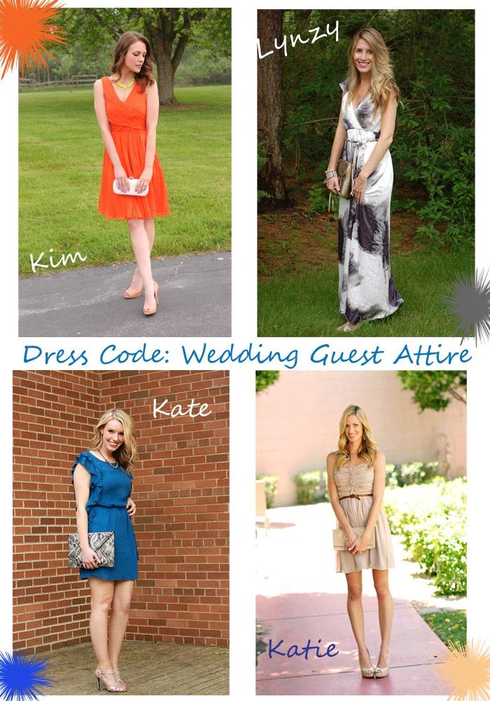 Dress Code: Wedding Guest Attire