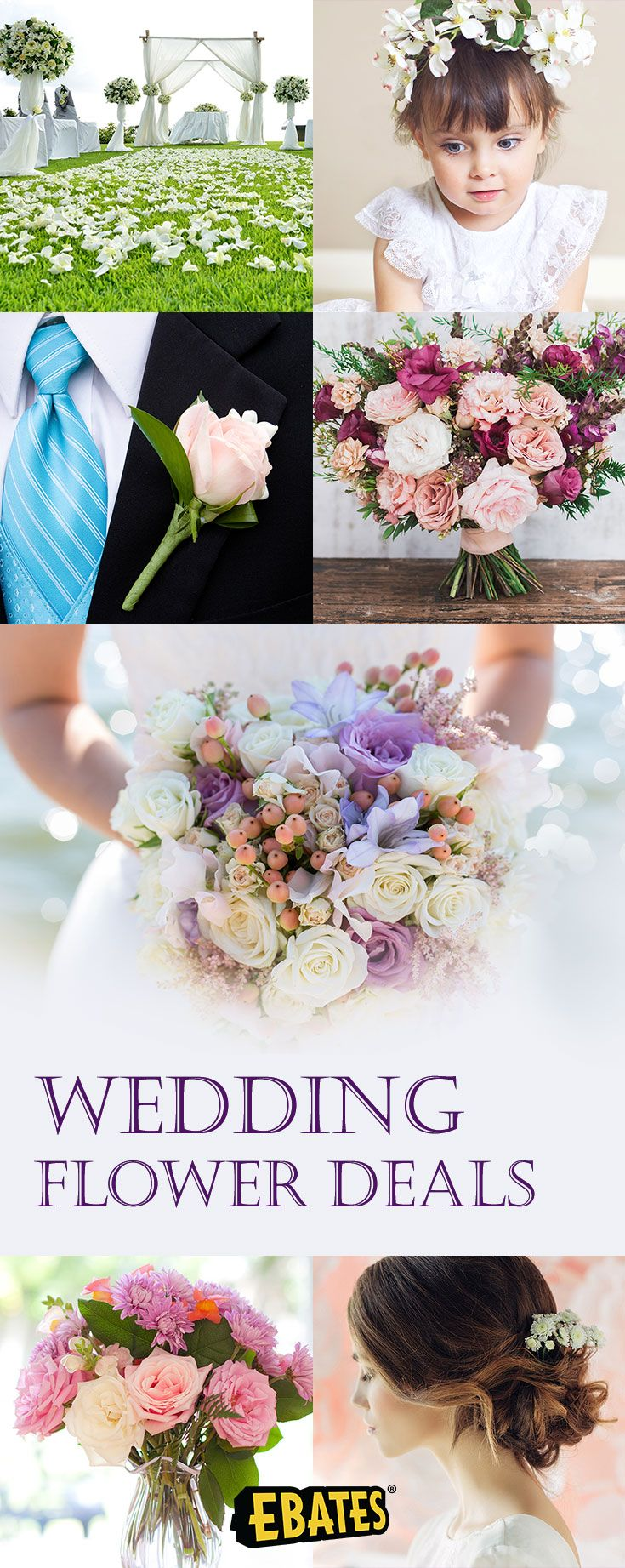 Shop wedding flowers and wedding decorations for your big day at top wedding stores. Save with wedding flowers deals & Cash Back at Ebates.