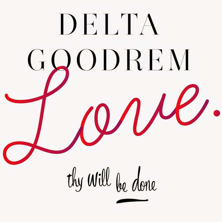 New Single Alert - Delta Goodrem has released this song. Thoughts?