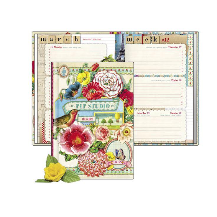 Schoolagenda / Agenda scolaire / School diary Pip Studio 2014-2015