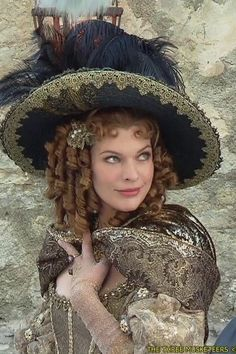 """FILM - MILLA JOVOVITCH as """"MILADY de WINTER"""" in """"The Three Musketeers"""" (2011)"""