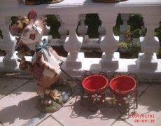 Trolley Cat Statue
