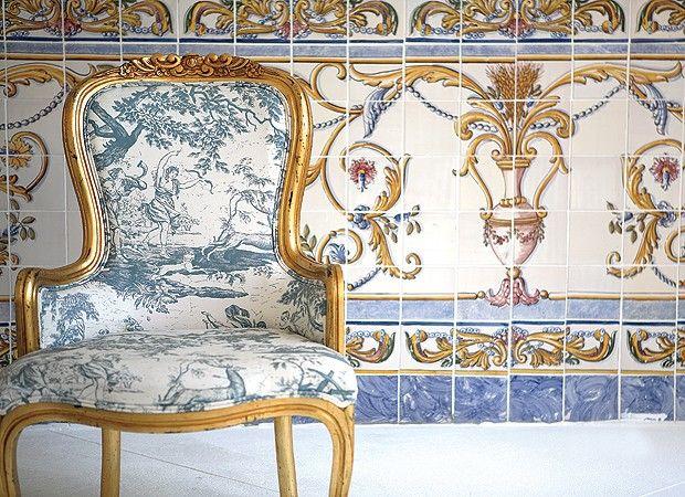 Dicas de decoração com azulejos portugueses! http://www.feminices.blog.br/decoracao-com-azulejos-portugueses/