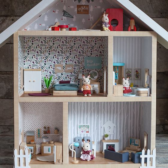 17 Best images about Dolls Houses for Children on Pinterest | Barbie house,  Bethany house and Sylvanian families
