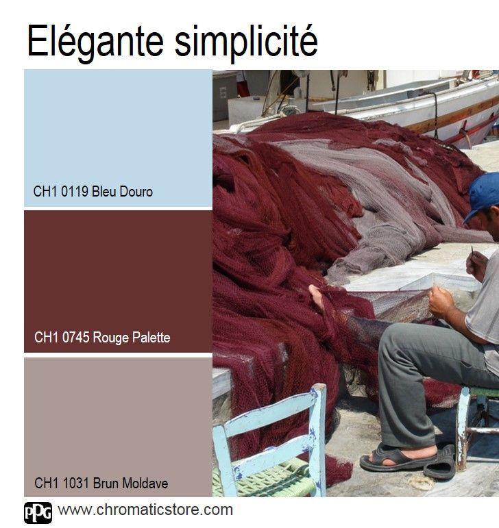 Favori Les 25 meilleures idées de la catégorie Palettes de couleur rouge  MG37