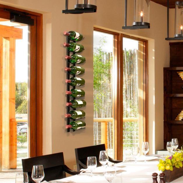 9-Bottle Wire Wine Rack